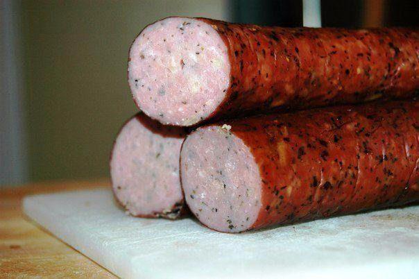 Куриная колбаска