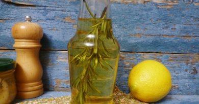 Ароматное масло для салатов и маринадов делаем сами.