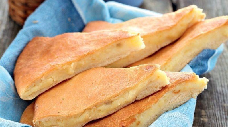 Картофджын, осетинский пирог с картофелем