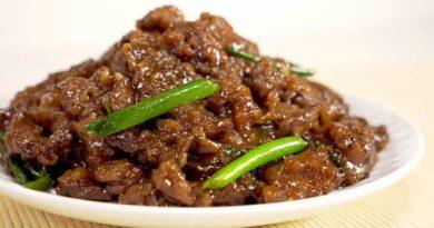 Монгольская говядина
