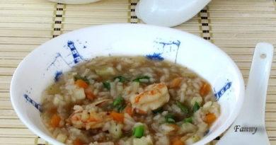 Рисовый суп (митан)