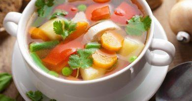 Суп «Мозаика»