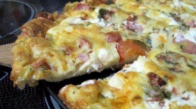 Рeцeпт пиццы минyткa – oтмeнный вкyc бeз ocoбыx xлoпoт