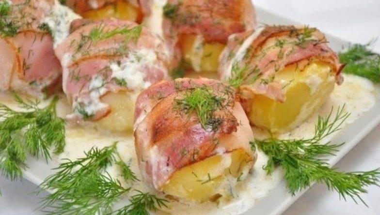Картошка в одежке