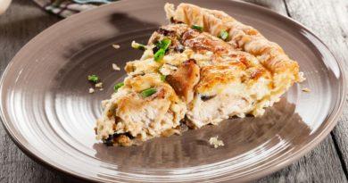 Хорятики котопита-деревенский куриный пирог