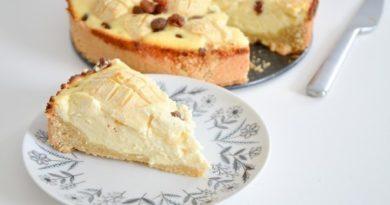Немецкий творожный пирог / Vanhasaksalainen juustokakku.