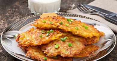 Аппетитные картофельные драники