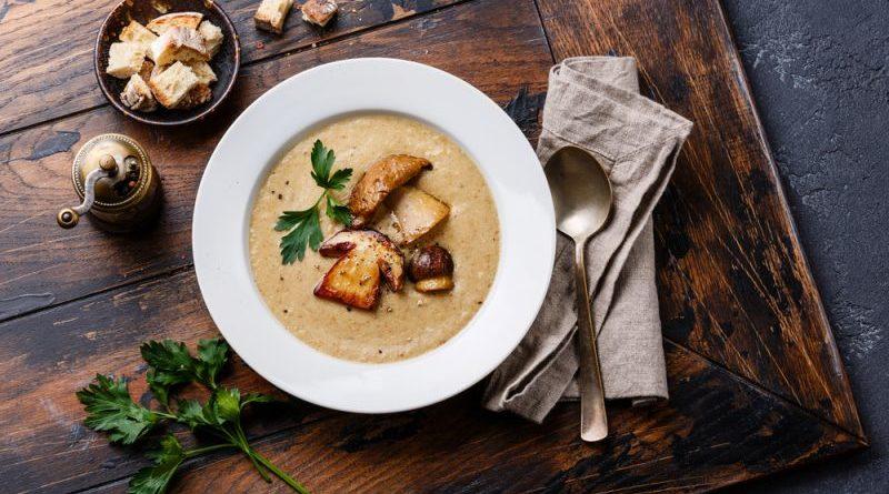 Грибной суп-крем