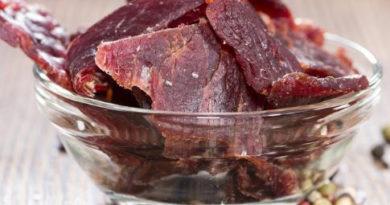 Как приготовить вкусное вяленое мясо