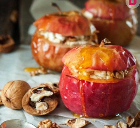 Как приготовить печеные яблоки