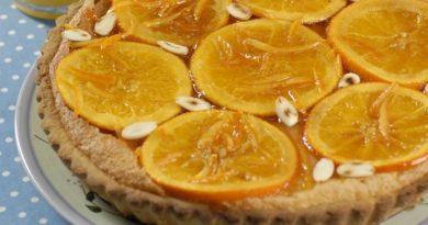 Мазурек с апельсинами