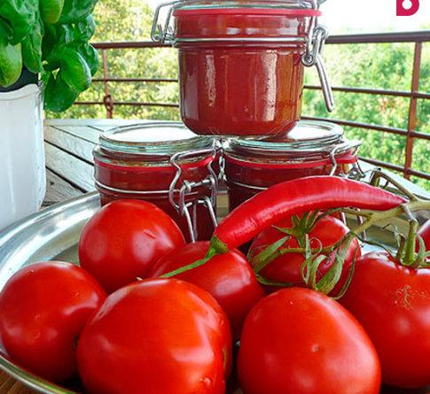 Натуральный домашний кетчуп - рецепт приготовления