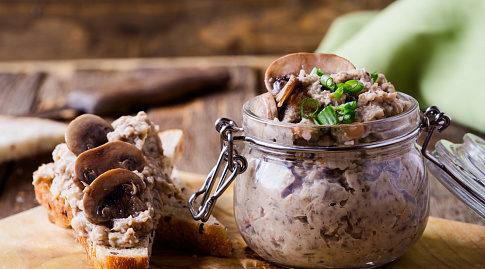 Паштет из фасоли – полноценный источник белка