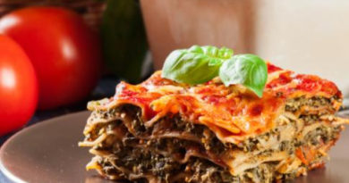Рецепт лазаньи с макаронами