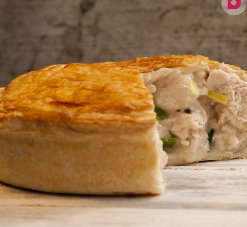 Рецепт пирога с картофельно-куриной начинкой