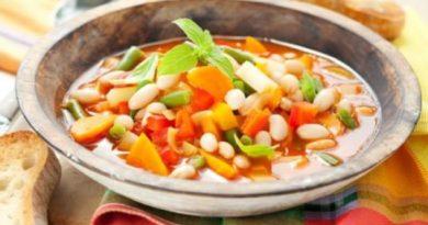 Суп минестрoне от Мaйкла Смита
