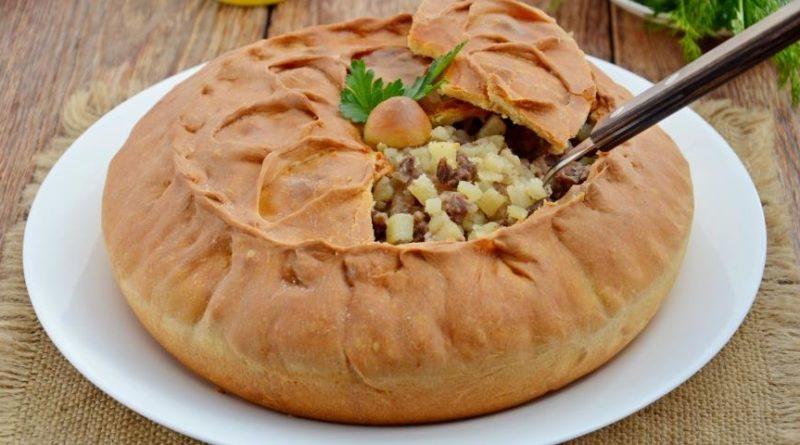Татарский пирог зур бэлш