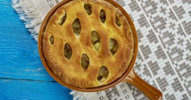 Английский пирог с корицей