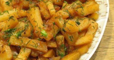 Вкусная картошка в мультиварке на режиме