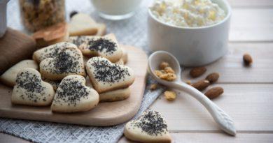 Имбирное печенье с творогом