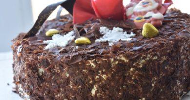 Классический торт «Черный принц» с какао