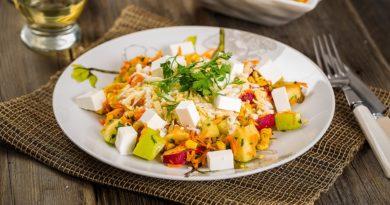 Овощной салат «Пармиджано»