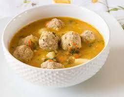 Пикантный суп с фрикадельками
