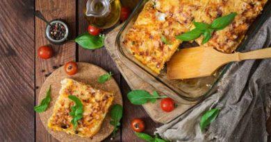 Рецепт традиционной лазаньи