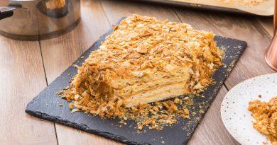 Торт «Медовый Наполеон»