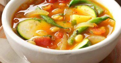 Овощной суп «Энергия овощей»
