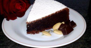Торт «Шоколадный капрезе»