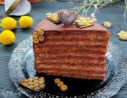 Шоколадный медовик
