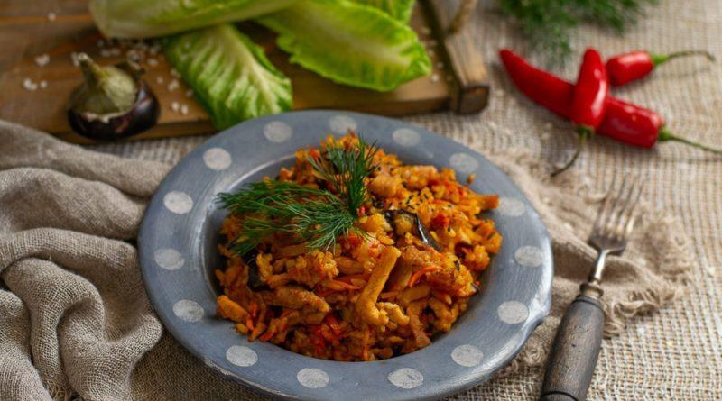 Средиземноморское овощное рагу с гречкой