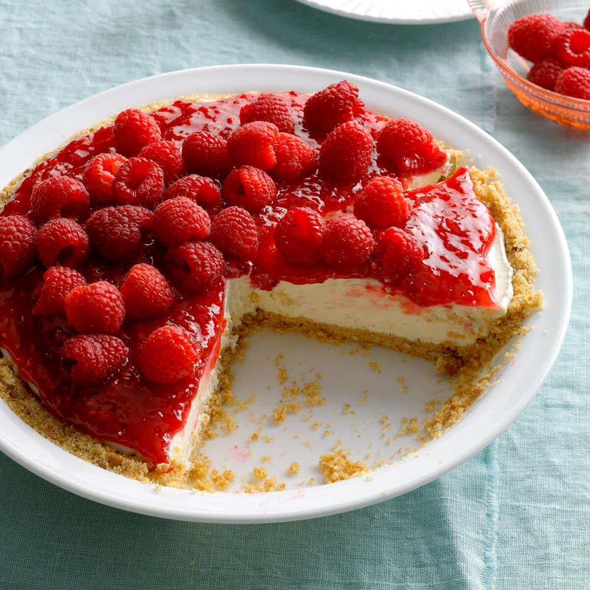 картинки с малиновым пирогом откроет список