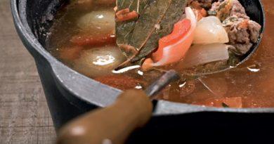 Голландский суп с фрикадельками