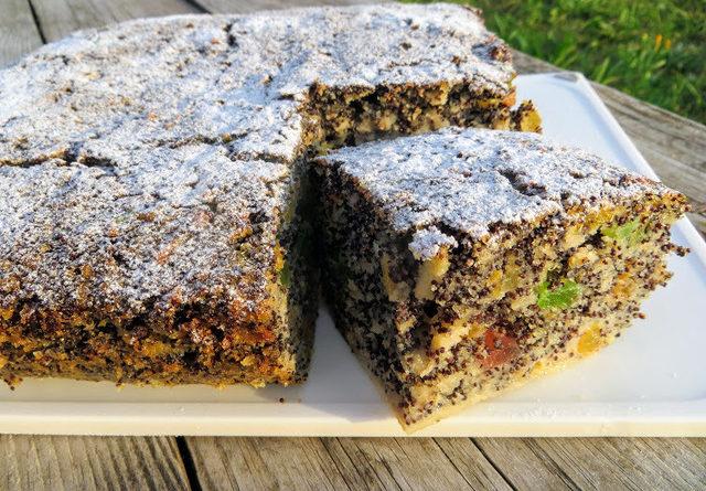 Необыкновенно вкусный пирог без муки, с маком и яблоком!
