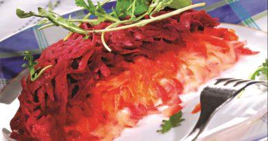 Овощи под сырным соусом
