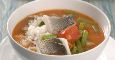 Суп Гамбо из сибаса