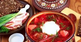 Классический рецепт украинского борща с мясом