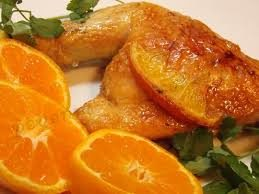 Куриные бедра в апельсиновом маринаде