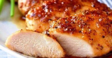 Сочное филе в медово-соевом соусе
