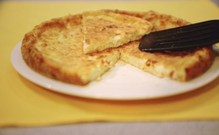 Сырный пирог! Вкусный вариант завтрака