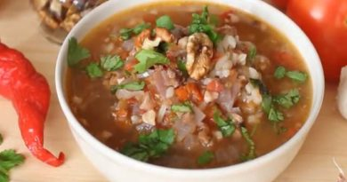 Классический рецепт приготовления супа харчо из говядины в домашних условиях