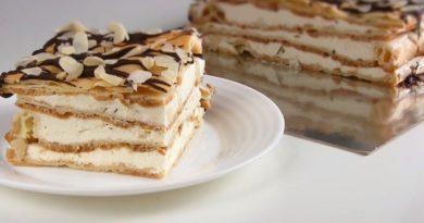 """Стильная выпечка- торт """"Эклер"""""""
