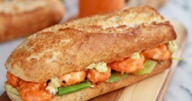 Сэндвич в духoвке