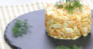 """Салат """"Морковка"""" - покоряет простотой и вкусом"""