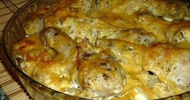 Картофель с куриными ножками в духовке