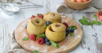 Яблоки медовые в мультиварке