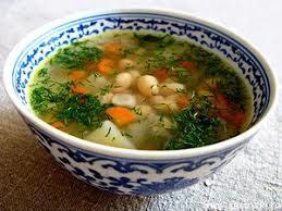Постный фасолевый суп в мультиварке