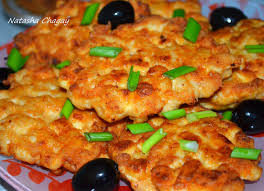 Котлеты куриные рубленые с адыгейским сыром